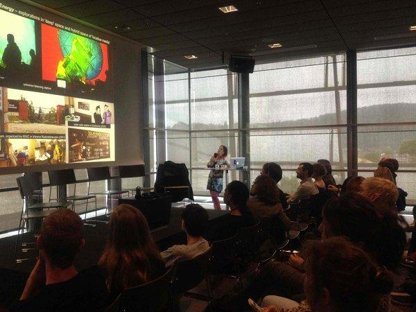 Rasa Smite – lectures in Bratislava, November 22, 2012